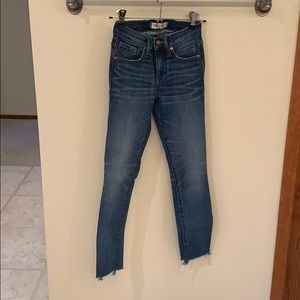 Madewell High Rise Crop Jeans